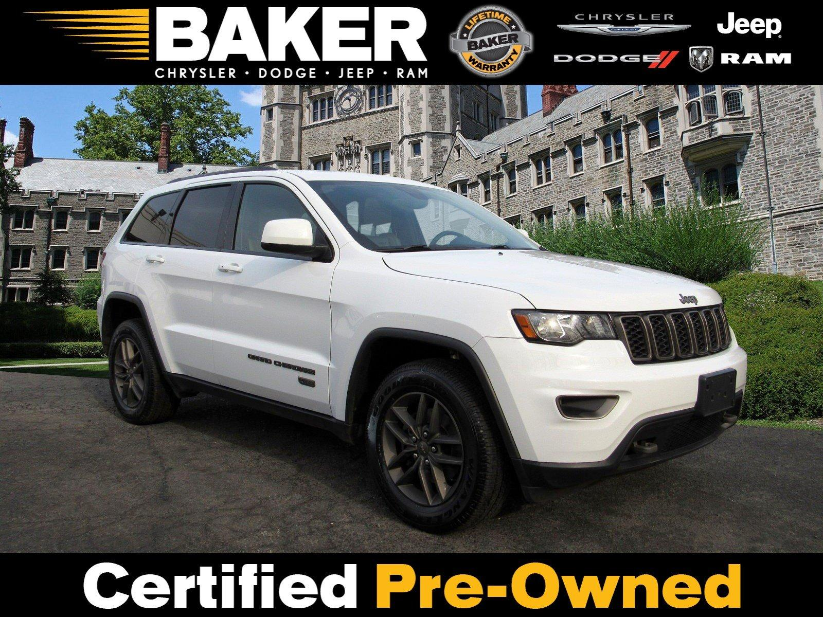 Used 2016 Jeep Grand Cherokee 75th Anniversary for sale Sold at Victory Lotus in Princeton NJ 08540 1