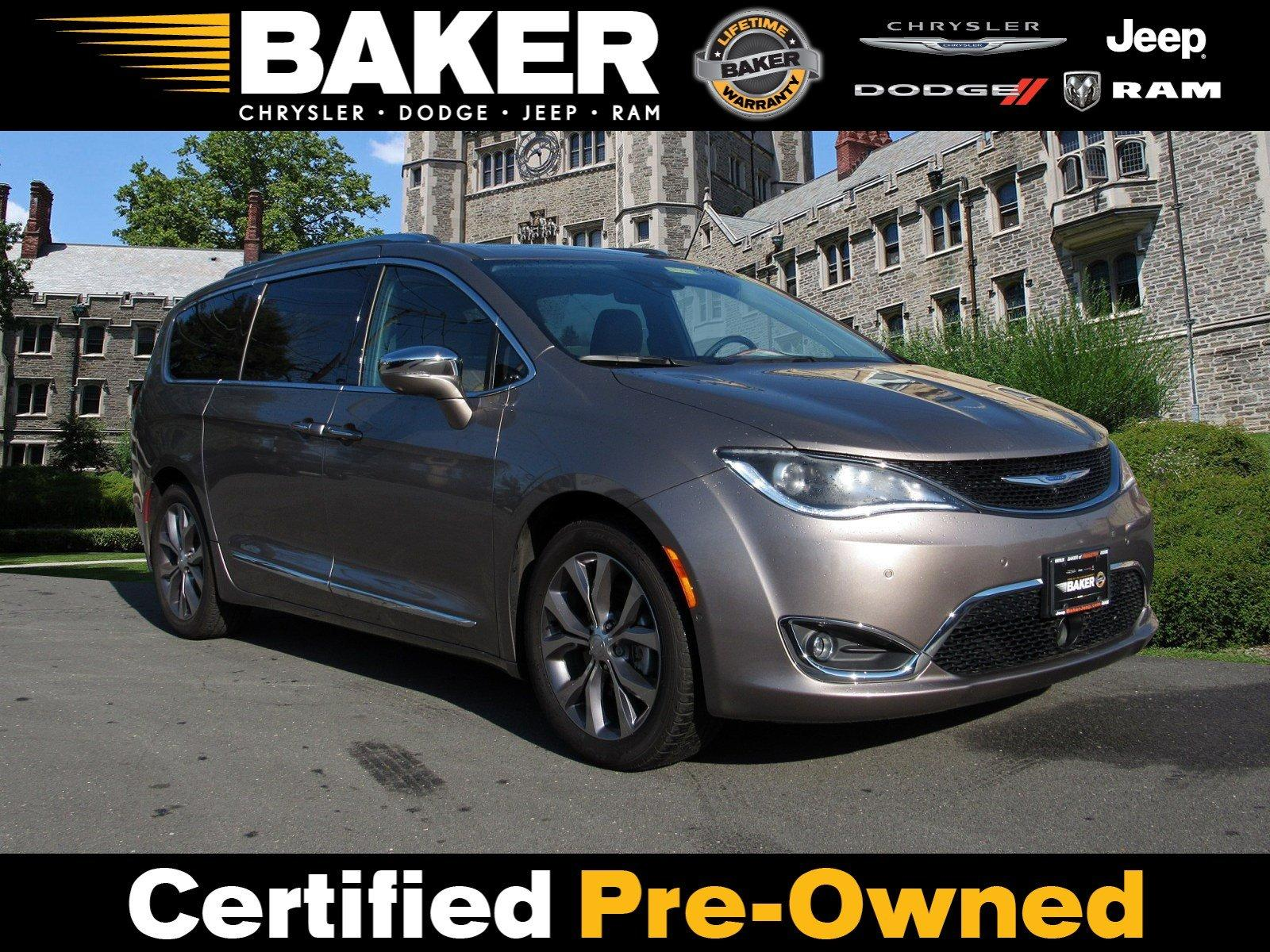 Used 2018 Chrysler Pacifica Limited for sale Sold at Victory Lotus in Princeton NJ 08540 1