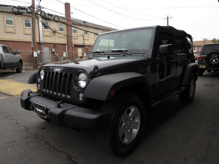 Used 2016 Jeep Wrangler Unlimited Sport for sale $26,995 at Victory Lotus in Princeton NJ 08540 4