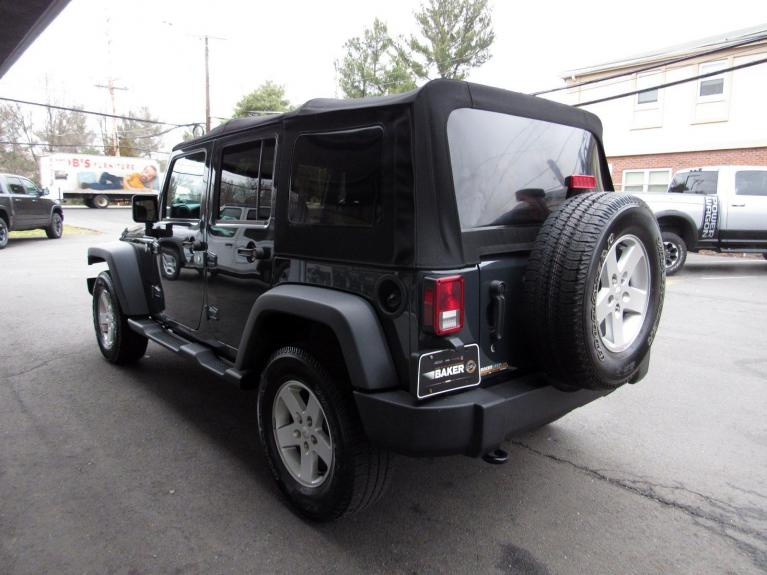 Used 2016 Jeep Wrangler Unlimited Sport for sale $26,995 at Victory Lotus in Princeton NJ 08540 5
