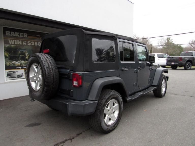 Used 2016 Jeep Wrangler Unlimited Sport for sale $26,995 at Victory Lotus in Princeton NJ 08540 7