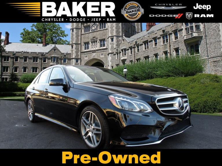 Used 2014 Mercedes-Benz E-Class E 550 Sport for sale Sold at Victory Lotus in Princeton NJ 08540 1