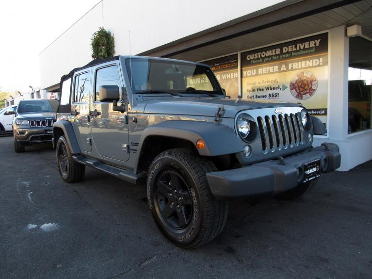 Used 2014 Jeep Wrangler Unlimited Sport for sale Sold at Victory Lotus in Princeton NJ 08540 2