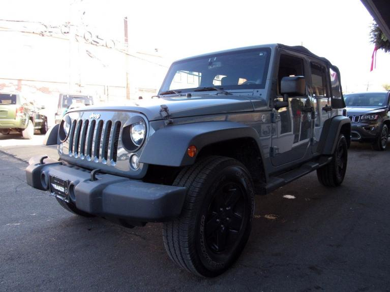 Used 2014 Jeep Wrangler Unlimited Sport for sale Sold at Victory Lotus in Princeton NJ 08540 4