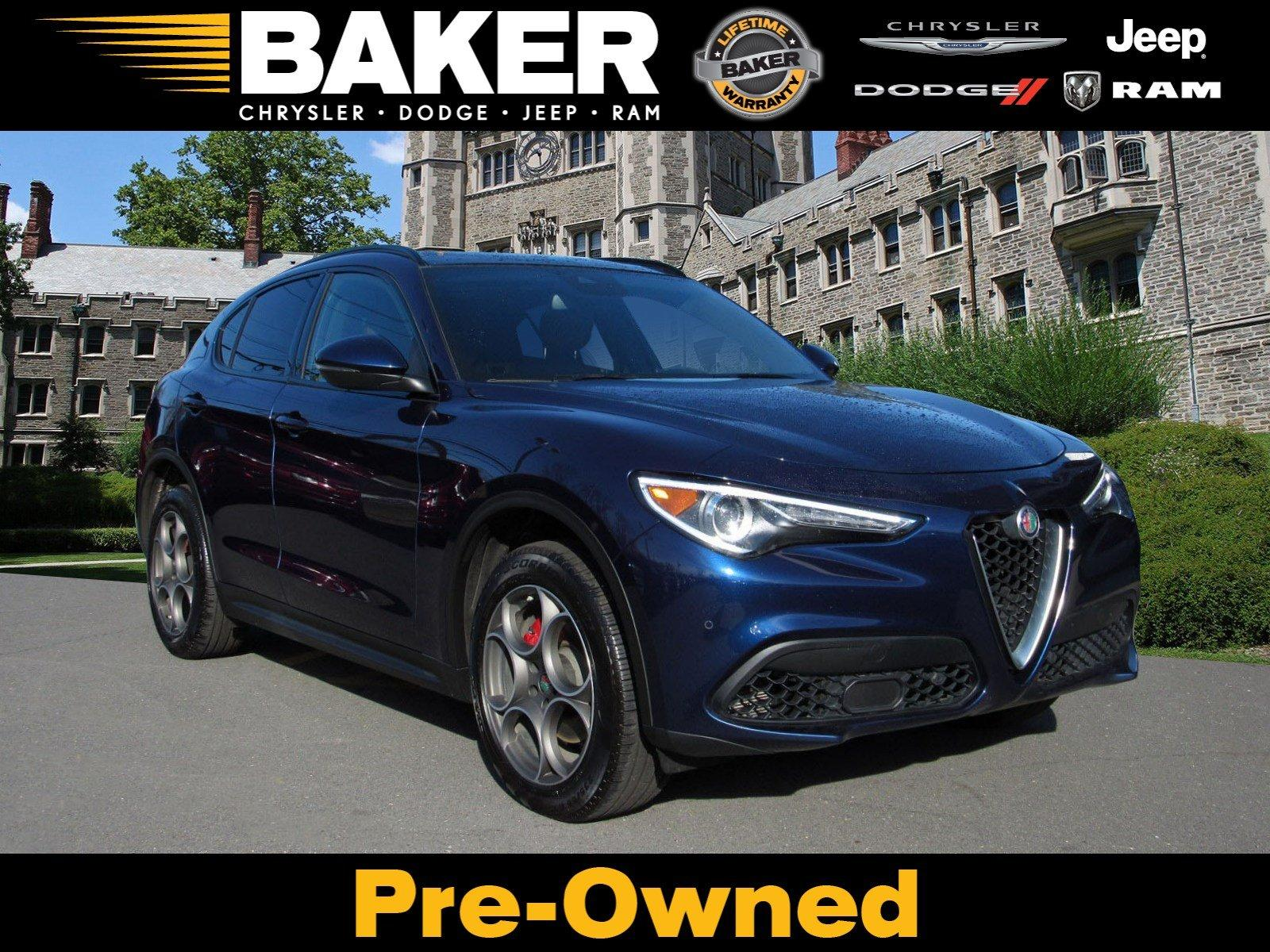 Used 2018 Alfa Romeo Stelvio Ti Sport for sale $32,995 at Victory Lotus in Princeton NJ 08540 1