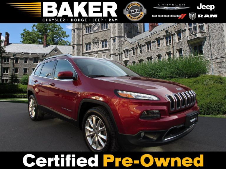 Used 2016 Jeep Cherokee Limited for sale Sold at Victory Lotus in Princeton NJ 08540 1