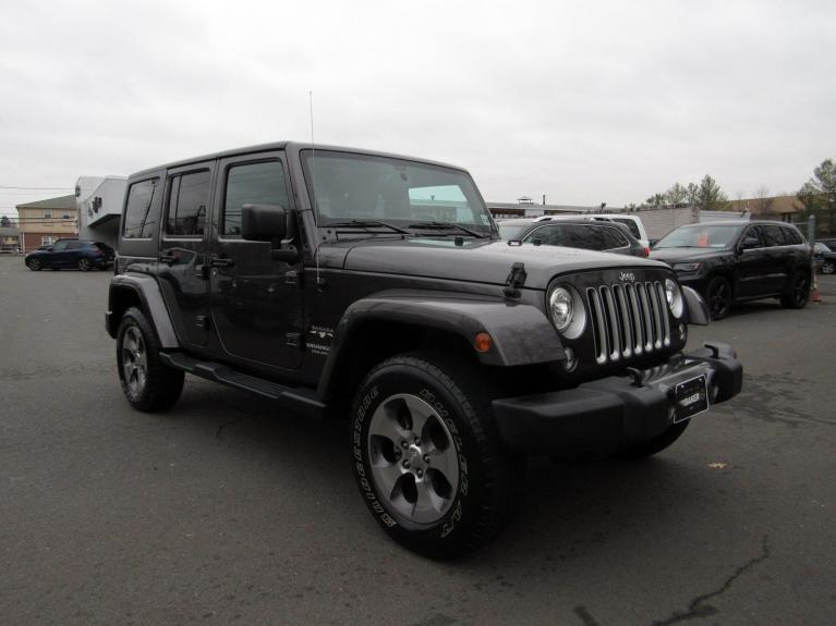 Used 2017 Jeep Wrangler Unlimited Sahara for sale Sold at Victory Lotus in Princeton NJ 08540 2