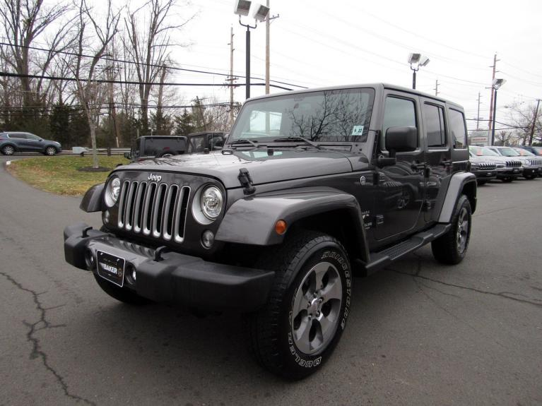 Used 2017 Jeep Wrangler Unlimited Sahara for sale Sold at Victory Lotus in Princeton NJ 08540 4