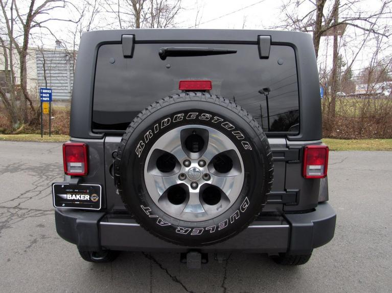 Used 2017 Jeep Wrangler Unlimited Sahara for sale Sold at Victory Lotus in Princeton NJ 08540 6
