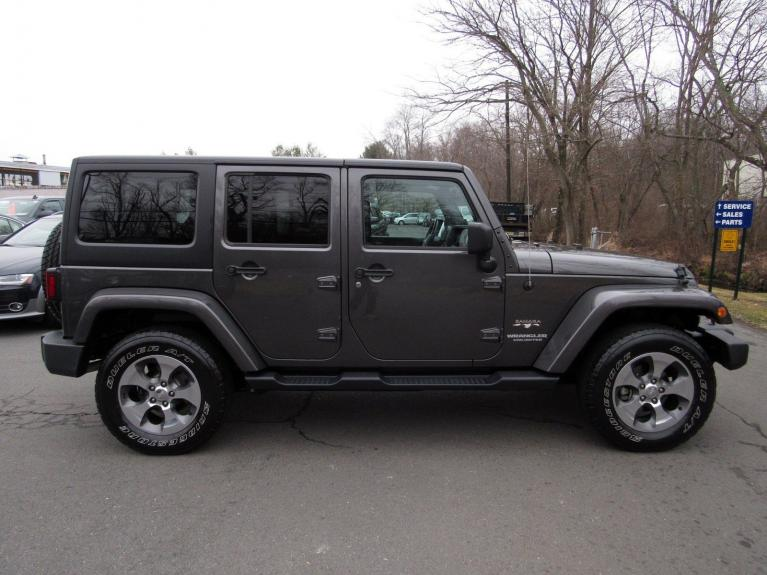 Used 2017 Jeep Wrangler Unlimited Sahara for sale Sold at Victory Lotus in Princeton NJ 08540 8
