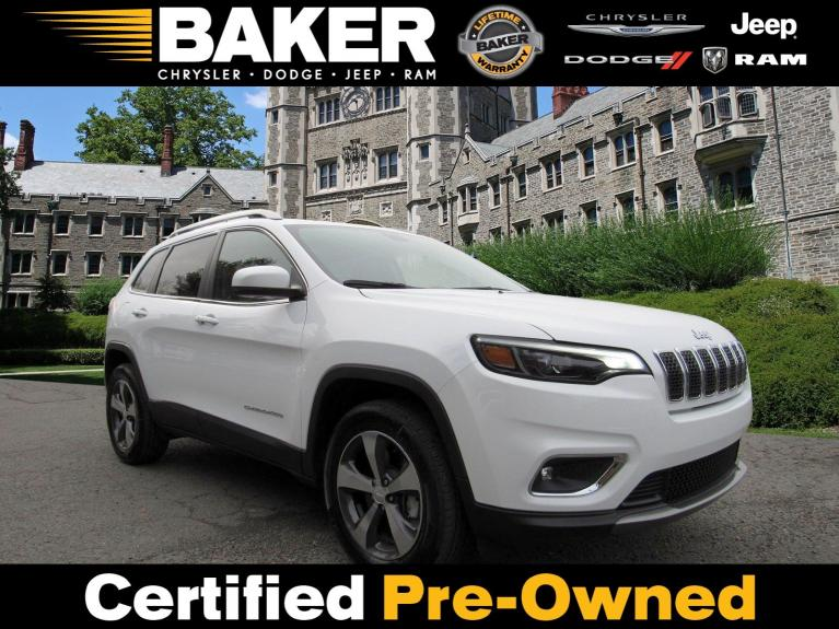 Used 2019 Jeep Cherokee Limited for sale Sold at Victory Lotus in Princeton NJ 08540 1