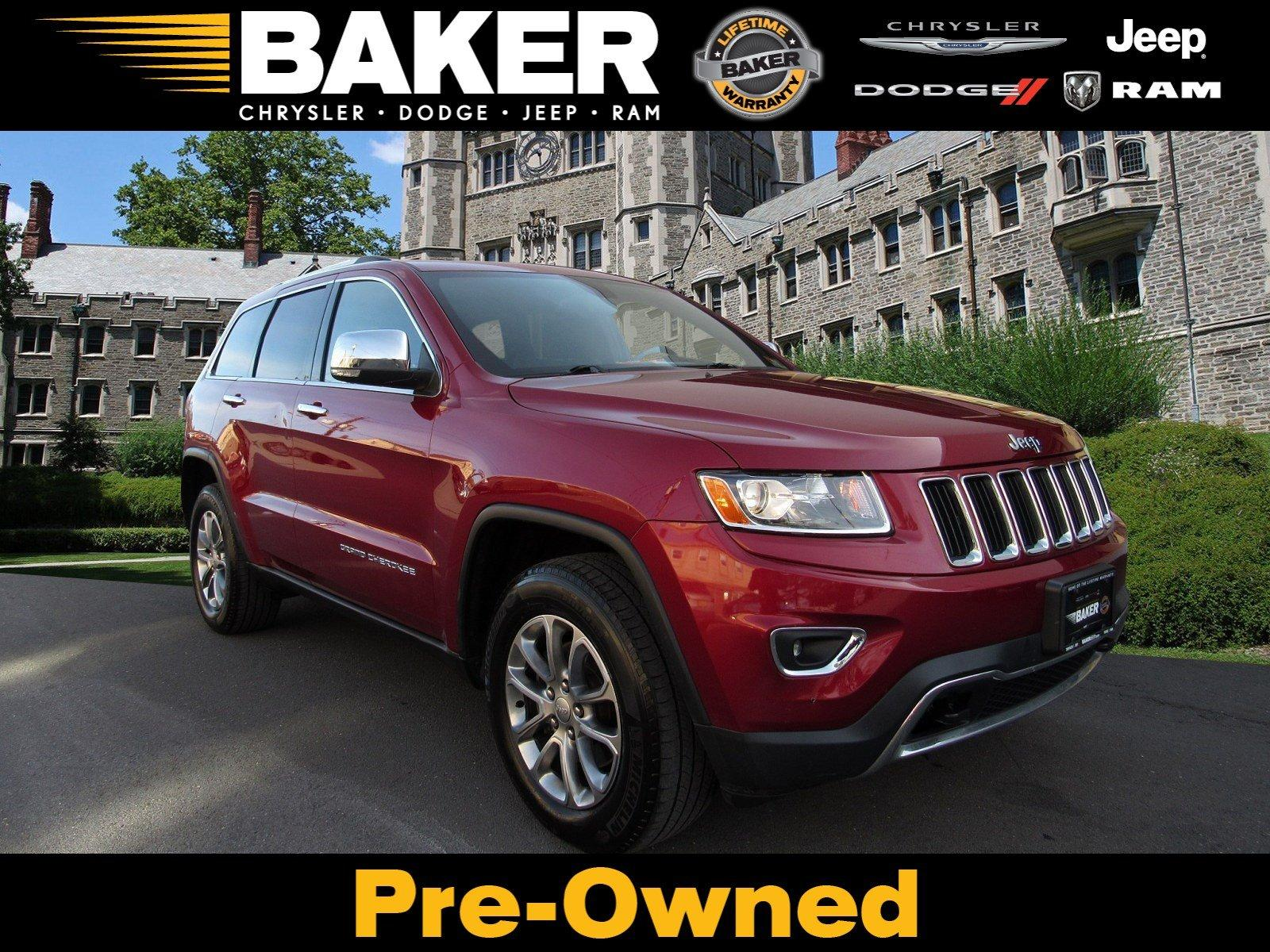 Used 2014 Jeep Grand Cherokee Limited for sale Sold at Victory Lotus in Princeton NJ 08540 1