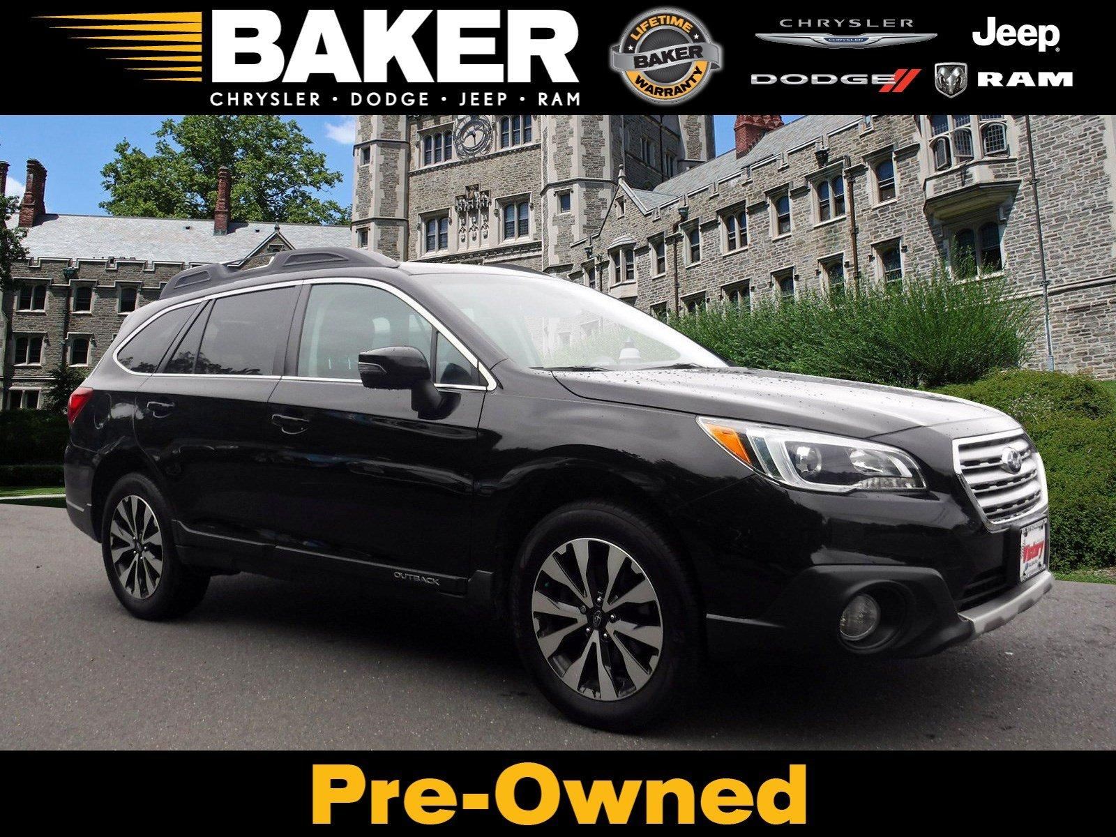 Used 2016 Subaru Outback 2.5i Limited for sale Sold at Victory Lotus in Princeton NJ 08540 1