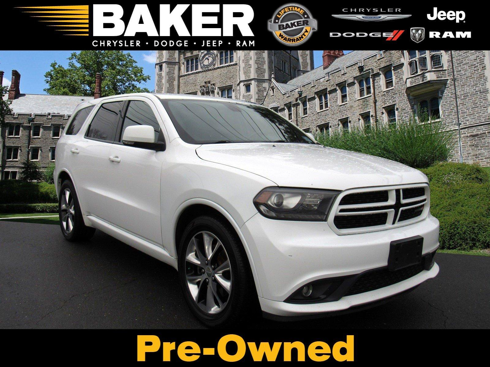 Used 2014 Dodge Durango R/T for sale Sold at Victory Lotus in Princeton NJ 08540 1