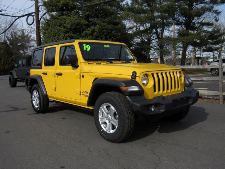 Used 2019 Jeep Wrangler Unlimited Sport S for sale Sold at Victory Lotus in Princeton NJ 08540 2