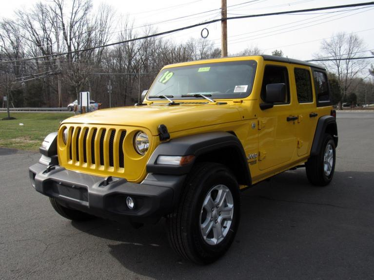 Used 2019 Jeep Wrangler Unlimited Sport S for sale Sold at Victory Lotus in Princeton NJ 08540 4