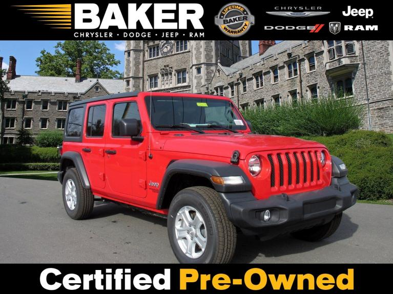 Used 2019 Jeep Wrangler Unlimited Sport S for sale Sold at Victory Lotus in Princeton NJ 08540 1