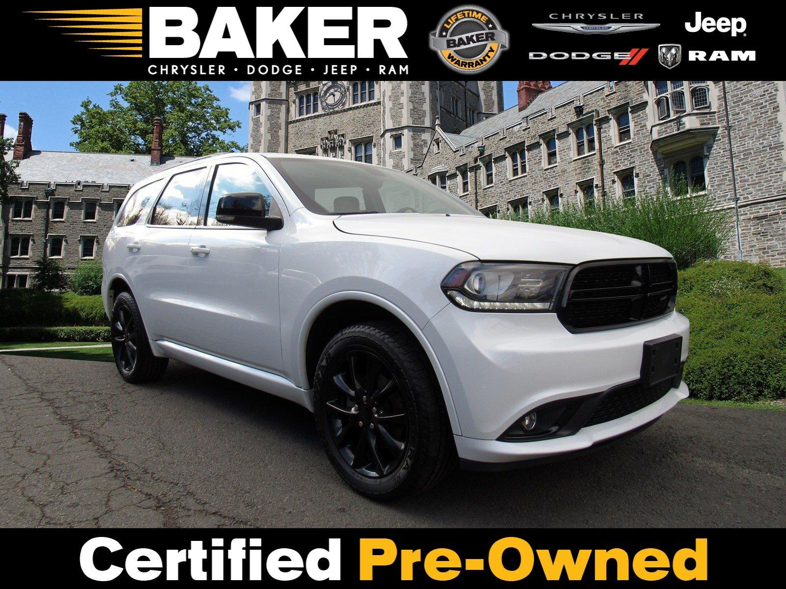 Used 2017 Dodge Durango GT for sale Sold at Victory Lotus in Princeton NJ 08540 1