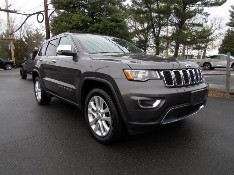 Used 2017 Jeep Grand Cherokee Limited for sale Sold at Victory Lotus in Princeton NJ 08540 2