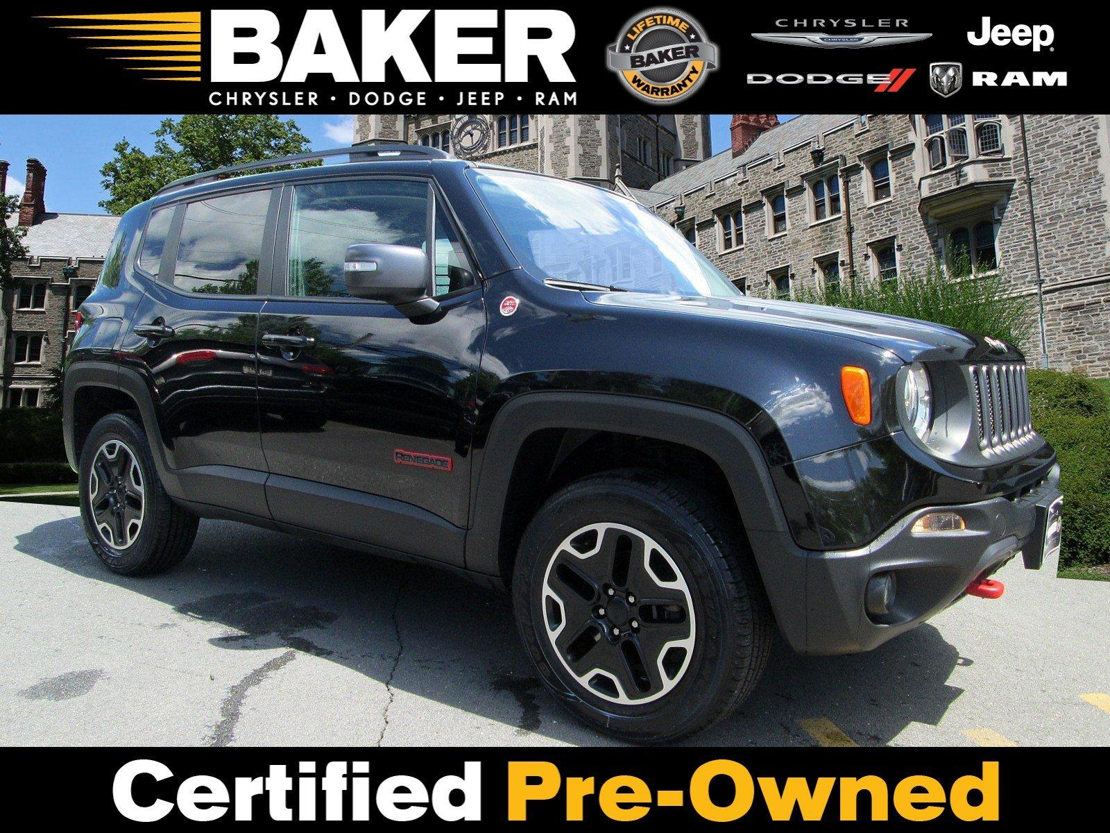 Used 2016 Jeep Renegade Trailhawk for sale $17,995 at Victory Lotus in Princeton NJ 08540 1