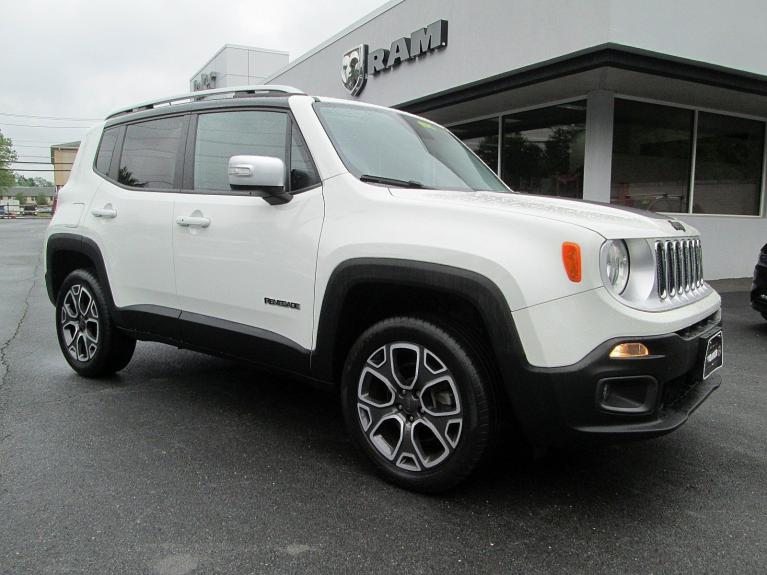 Used 2015 Jeep Renegade Limited for sale $16,995 at Victory Lotus in Princeton NJ 08540 2