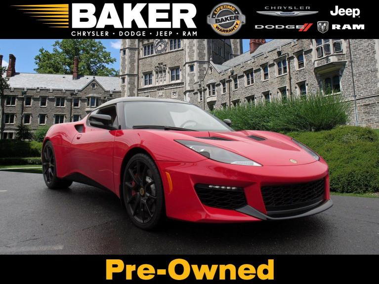 Used 2017 Lotus Evora 400 for sale $74,995 at Victory Lotus in Princeton NJ