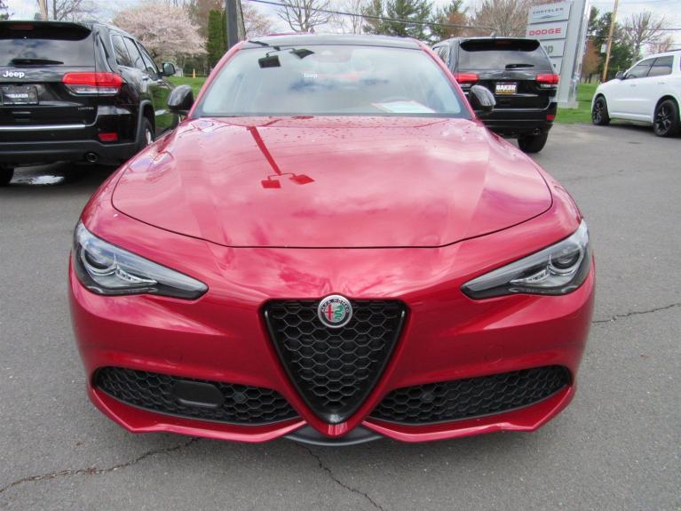 Used 2019 Alfa Romeo Giulia Ti Sport for sale Sold at Victory Lotus in Princeton NJ 08540 2