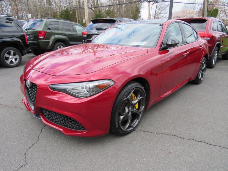 Used 2019 Alfa Romeo Giulia Ti Sport for sale Sold at Victory Lotus in Princeton NJ 08540 3