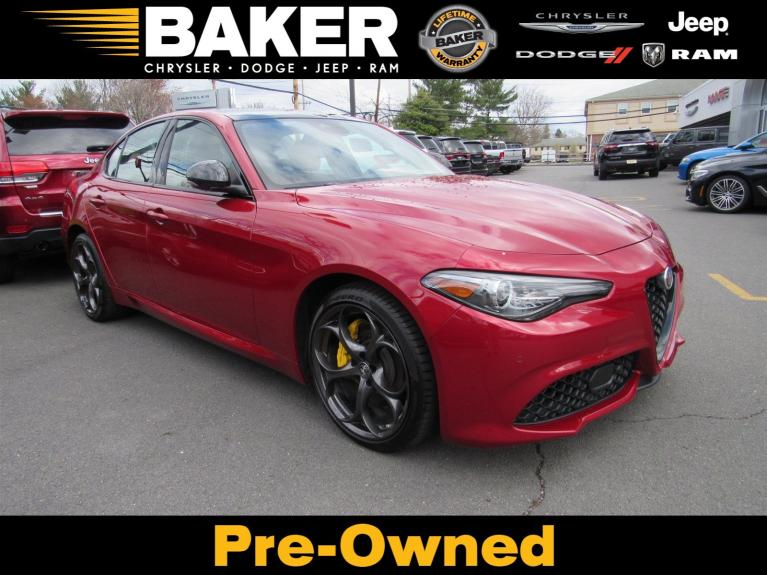 Used 2019 Alfa Romeo Giulia Ti Sport for sale $40,995 at Victory Lotus in Princeton NJ