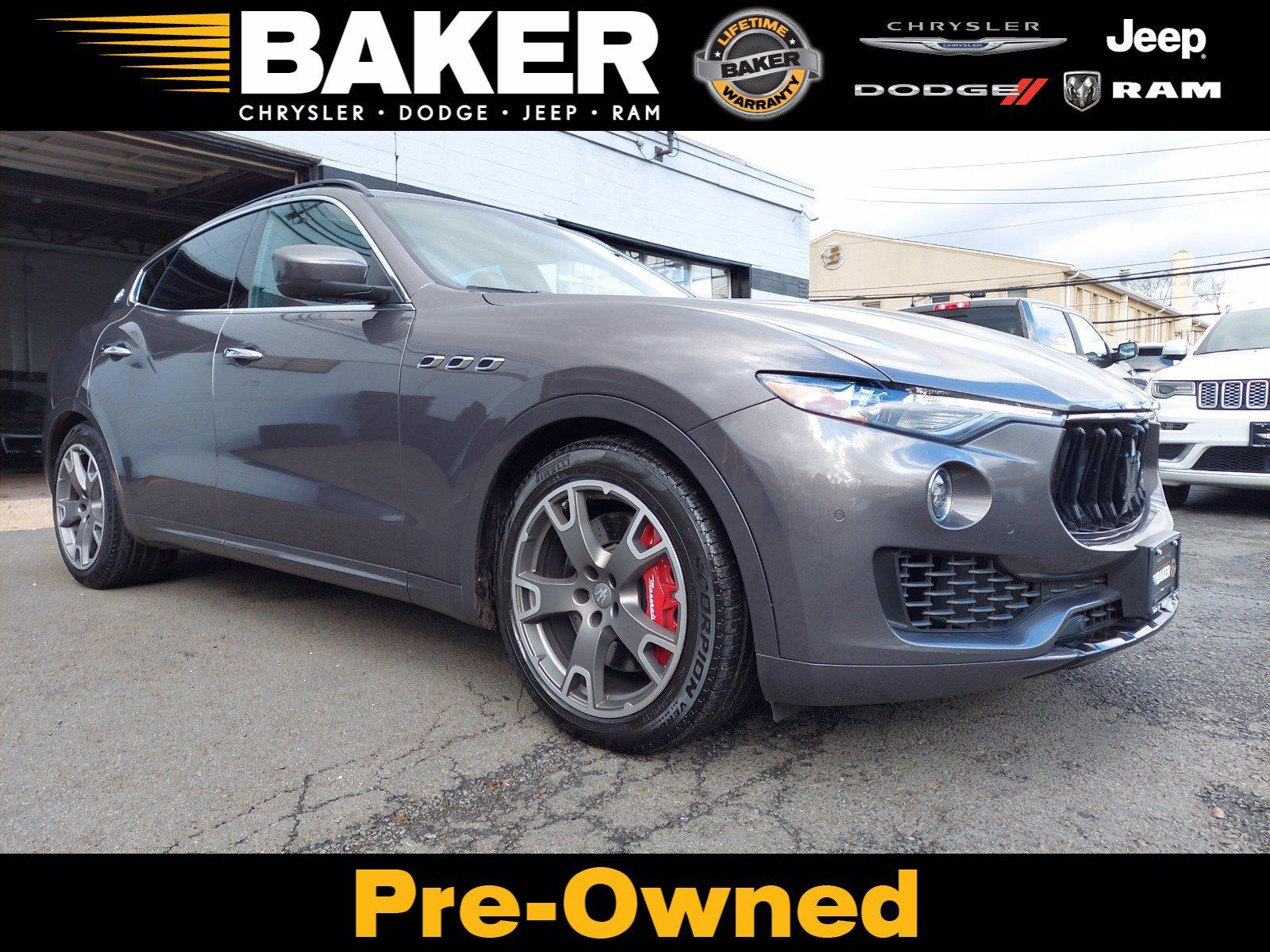 Used 2017 Maserati Levante S for sale $54,495 at Victory Lotus in Princeton NJ 08540 1