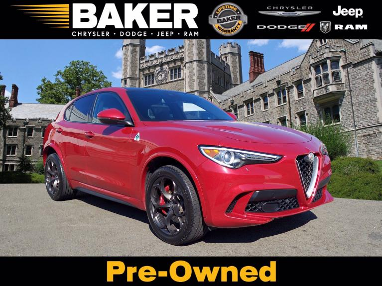 Used 2018 Alfa Romeo Stelvio Quadrifoglio for sale $53,995 at Victory Lotus in Princeton NJ