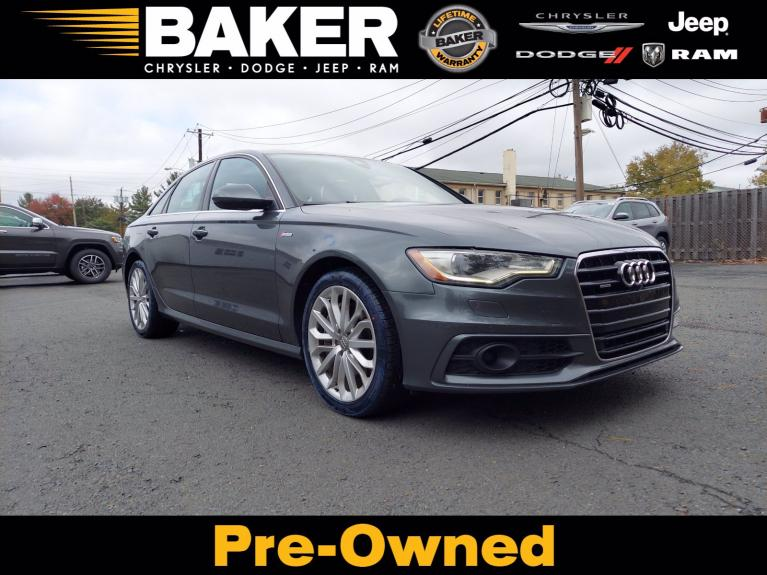 Used 2014 Audi A6 3.0T Prestige for sale Sold at Victory Lotus in Princeton NJ 08540 1