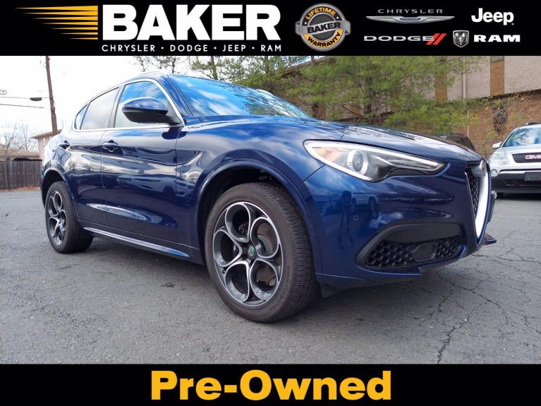 Used 2020 Alfa Romeo Stelvio Ti Lusso for sale $42,995 at Victory Lotus in Princeton NJ