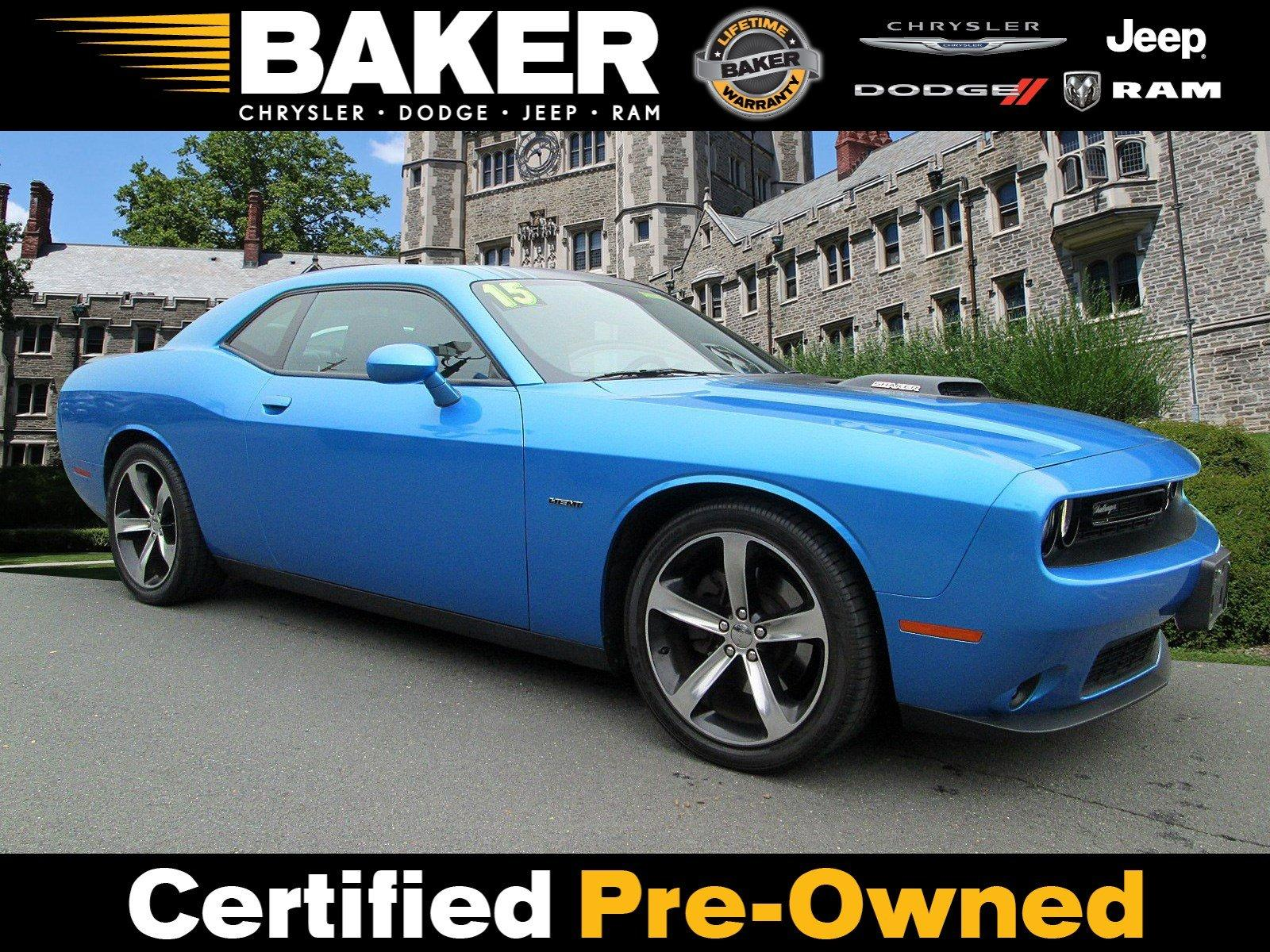 Used 2015 Dodge Challenger R/T Plus Shaker for sale Sold at Victory Lotus in Princeton NJ 08540 1