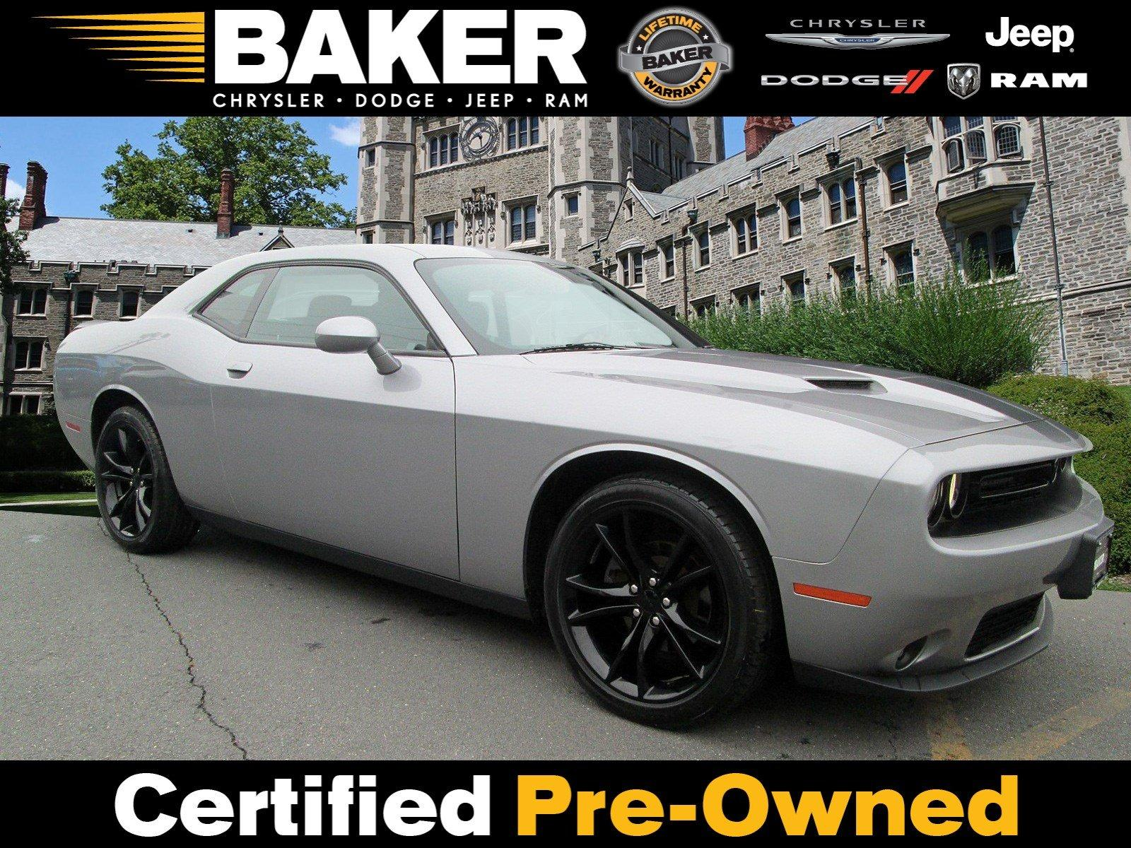 Used 2016 Dodge Challenger SXT for sale $19,995 at Victory Lotus in Princeton NJ 08540 1