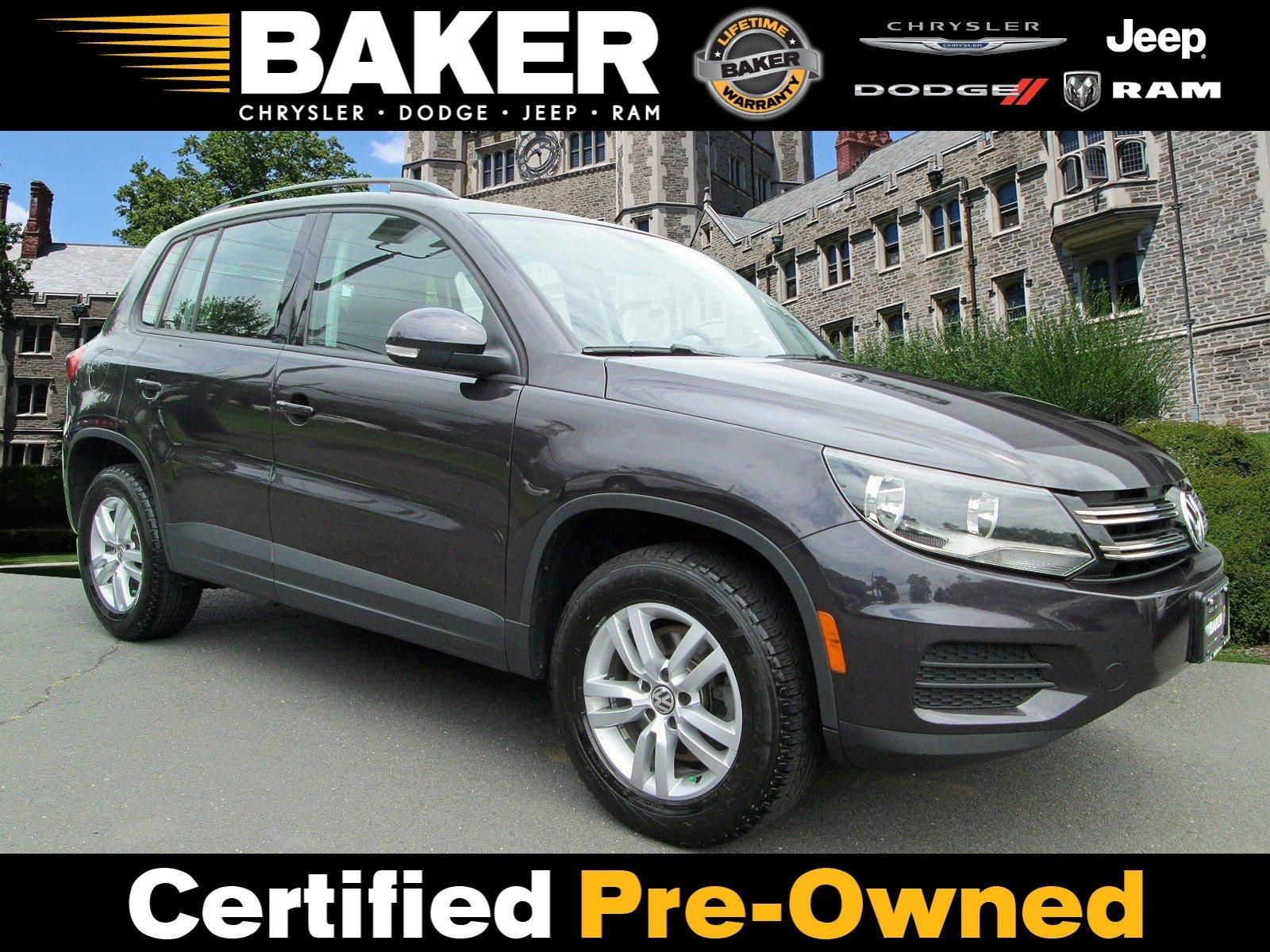 Used 2016 Volkswagen Tiguan S for sale Sold at Victory Lotus in Princeton NJ 08540 1