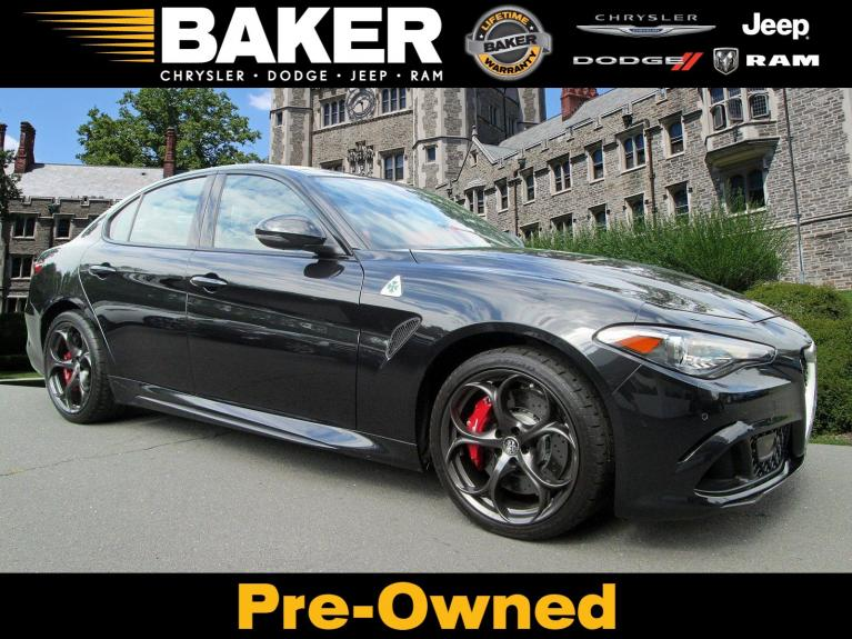 Used 2018 Alfa Romeo Giulia Quadrifoglio for sale $57,995 at Victory Lotus in Princeton NJ