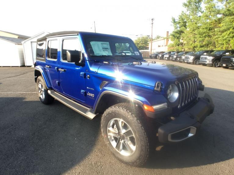 Used 2018 Jeep Wrangler Unlimited Sahara for sale Sold at Victory Lotus in Princeton NJ 08540 8