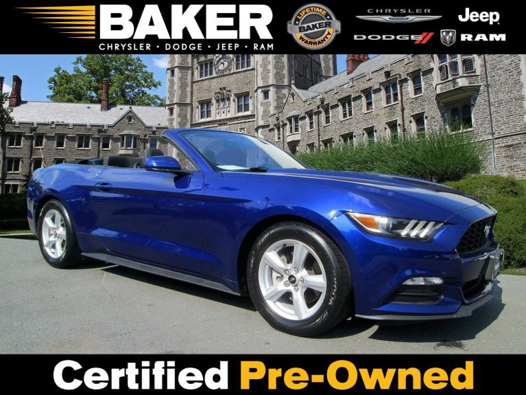Used 2016 Ford Mustang V6 for sale Sold at Victory Lotus in Princeton NJ 08540 1