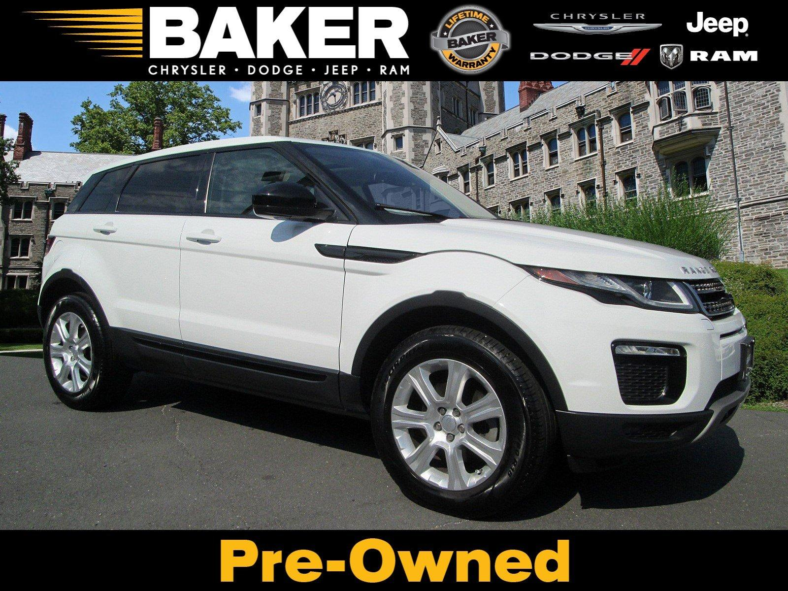Used 2016 Land Rover Range Rover Evoque SE Premium for sale Sold at Victory Lotus in Princeton NJ 08540 1