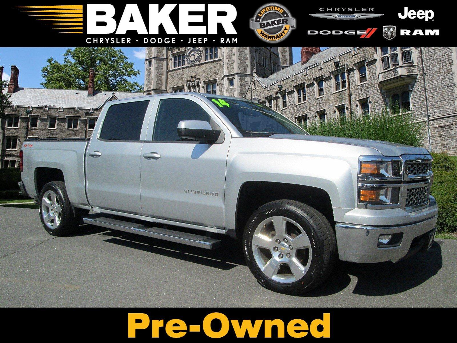 Used 2014 Chevrolet Silverado 1500 LT for sale Sold at Victory Lotus in Princeton NJ 08540 1