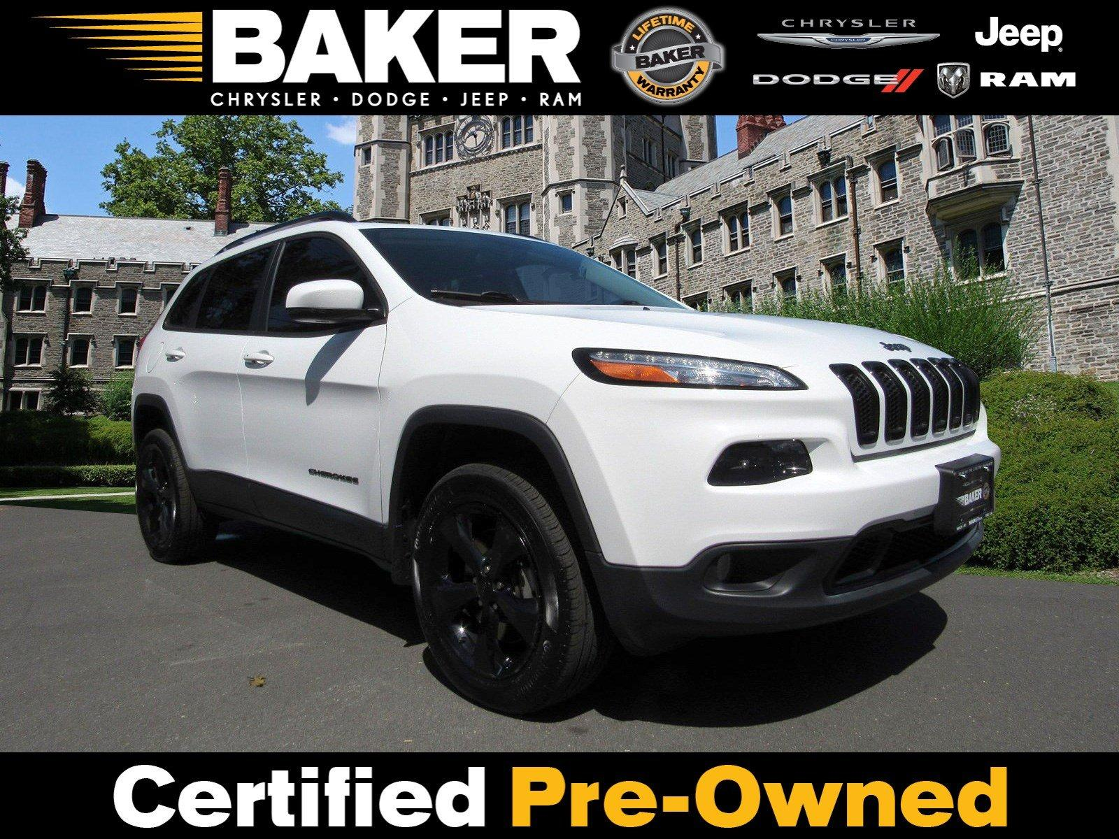 Used 2017 Jeep Cherokee High Altitude for sale Sold at Victory Lotus in Princeton NJ 08540 1