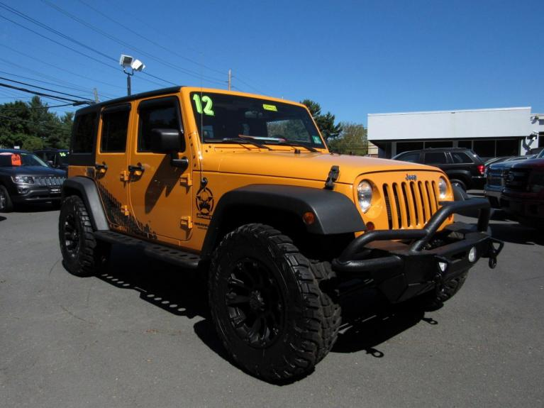 Used 2012 Jeep Wrangler Unlimited Sport for sale Sold at Victory Lotus in Princeton NJ 08540 2