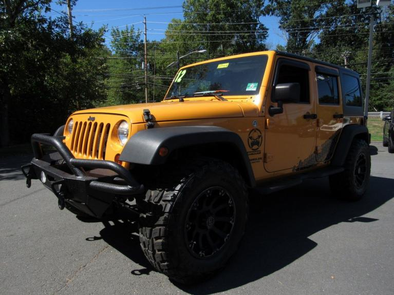 Used 2012 Jeep Wrangler Unlimited Sport for sale Sold at Victory Lotus in Princeton NJ 08540 4