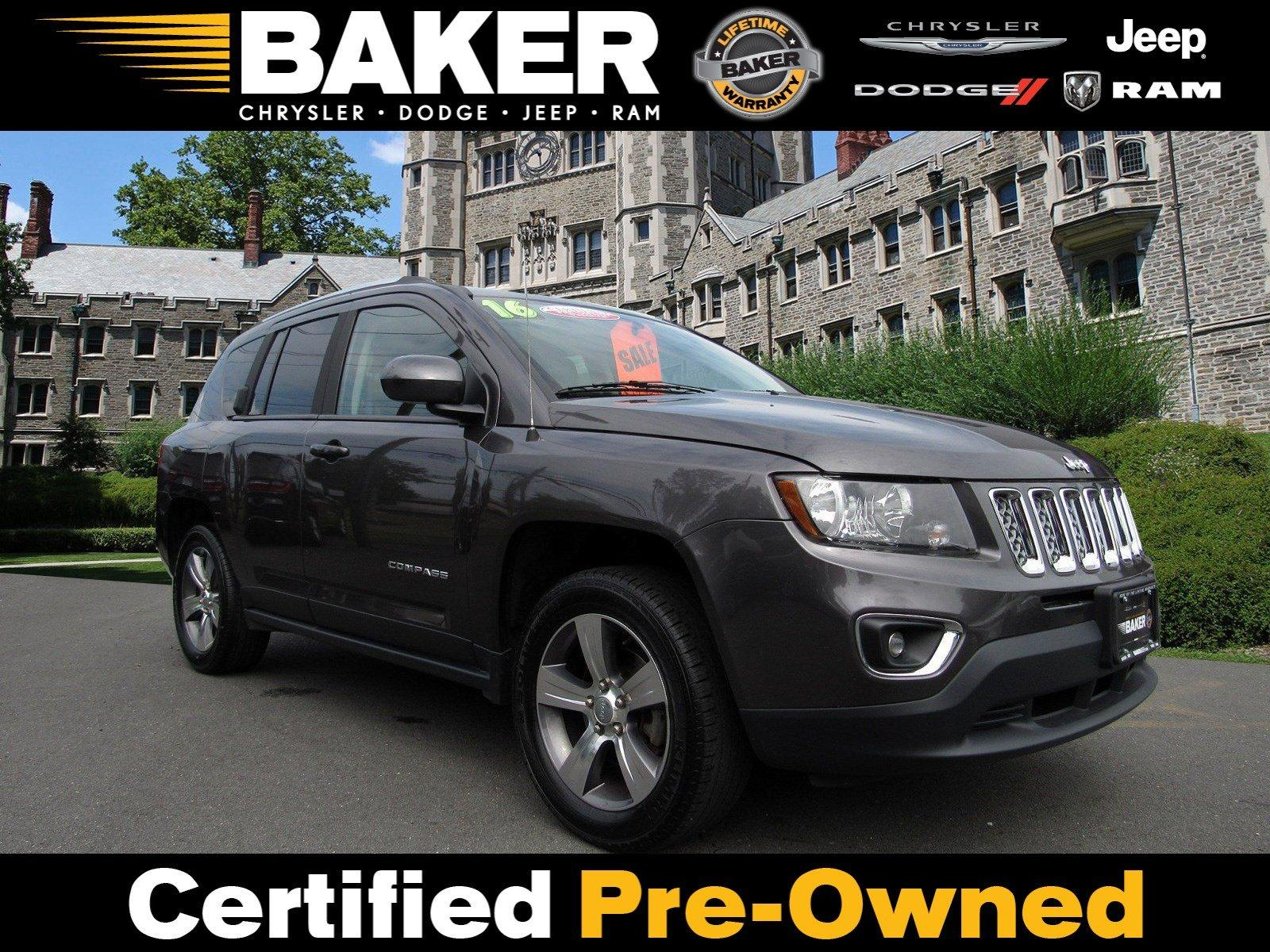 Used 2016 Jeep Compass High Altitude Edition for sale Sold at Victory Lotus in Princeton NJ 08540 1