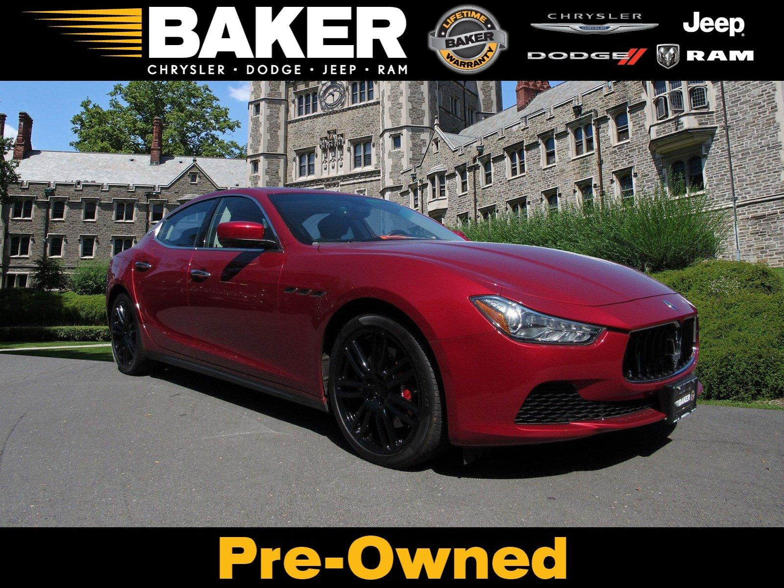 Used 2016 Maserati Ghibli S Q4 for sale Sold at Victory Lotus in Princeton NJ 08540 1