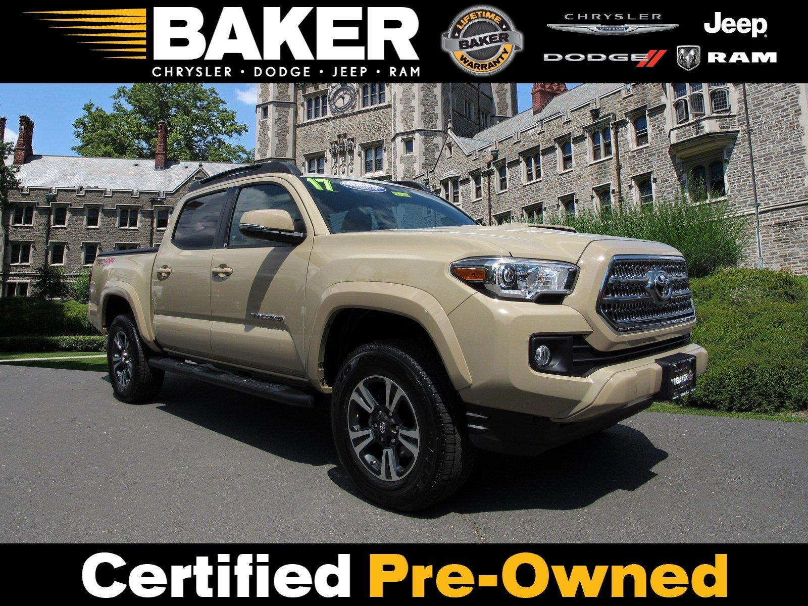 Used 2017 Toyota Tacoma Trd Sport For Sale 35 995 Victory Lotus Stock 050683