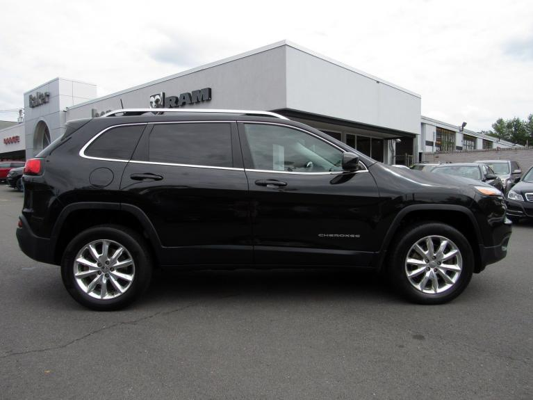 Used 2016 Jeep Cherokee Limited for sale Sold at Victory Lotus in Princeton NJ 08540 8