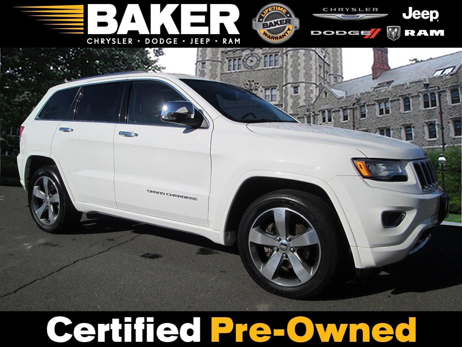 Used 2015 Jeep Grand Cherokee Overland for sale Sold at Victory Lotus in Princeton NJ 08540 1