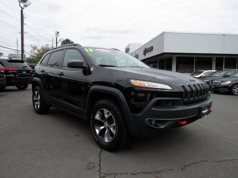 Used 2018 Jeep Cherokee Trailhawk for sale Sold at Victory Lotus in Princeton NJ 08540 2
